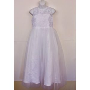 New White Lace & Tulle Wedding SO Dress 13